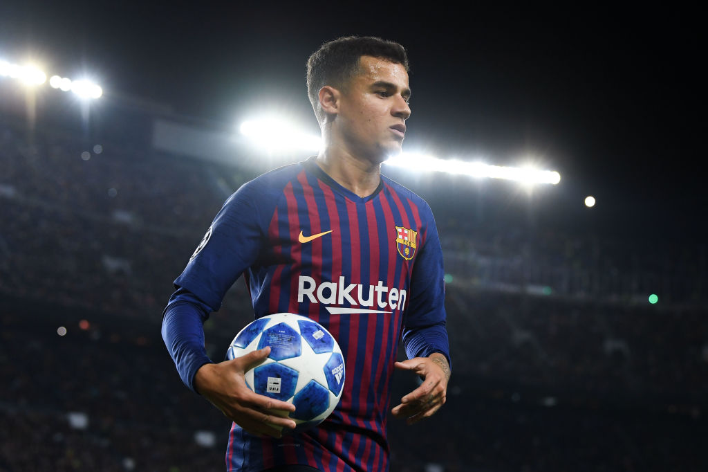 Liverpool have been offered Philippe Coutinho on a free transfer