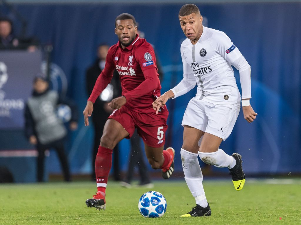 Gini Wijnaldum is set to join Kylian Mbappe at PSG