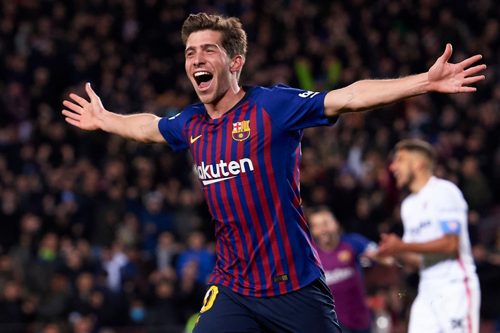 Liverpool should look at Sergi Roberto as a replacement for James Milner.