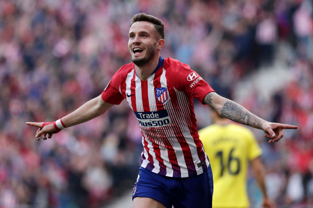 Liverpool are watching Saul Niguez closely