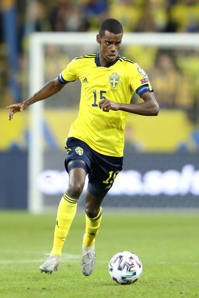 Liverpool are considering a bid for Alexander Isak.