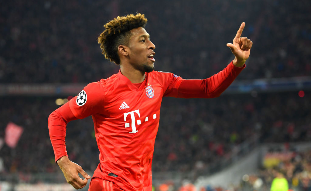 Liverpool have submitted a bid for Kingsley Coman