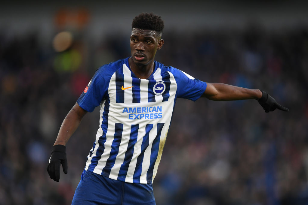 Brighton are open to selling reported Liverpool target Yves Bissouma