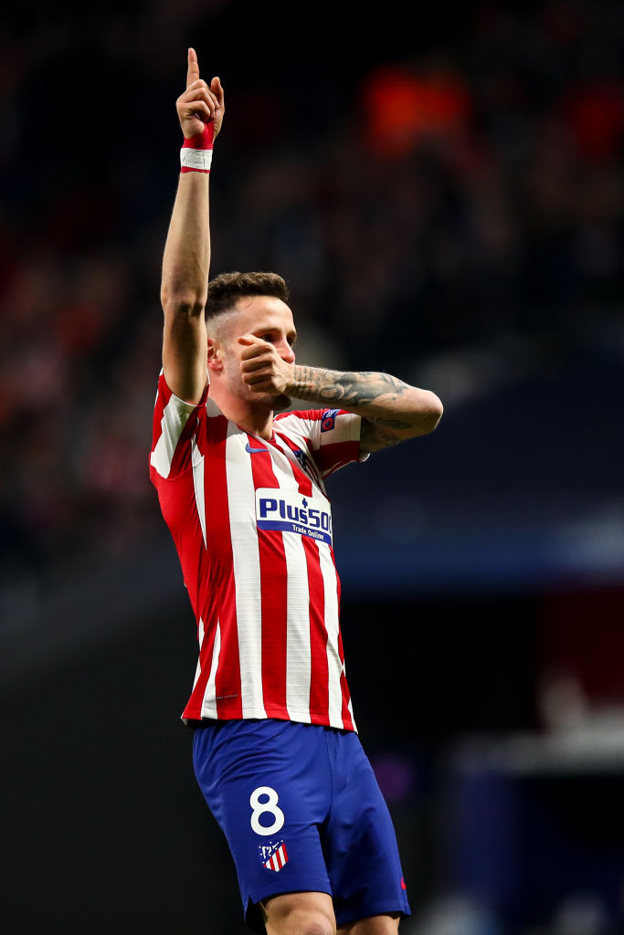 Liverpool are interested in Saul Niguez at Atletico Madrid