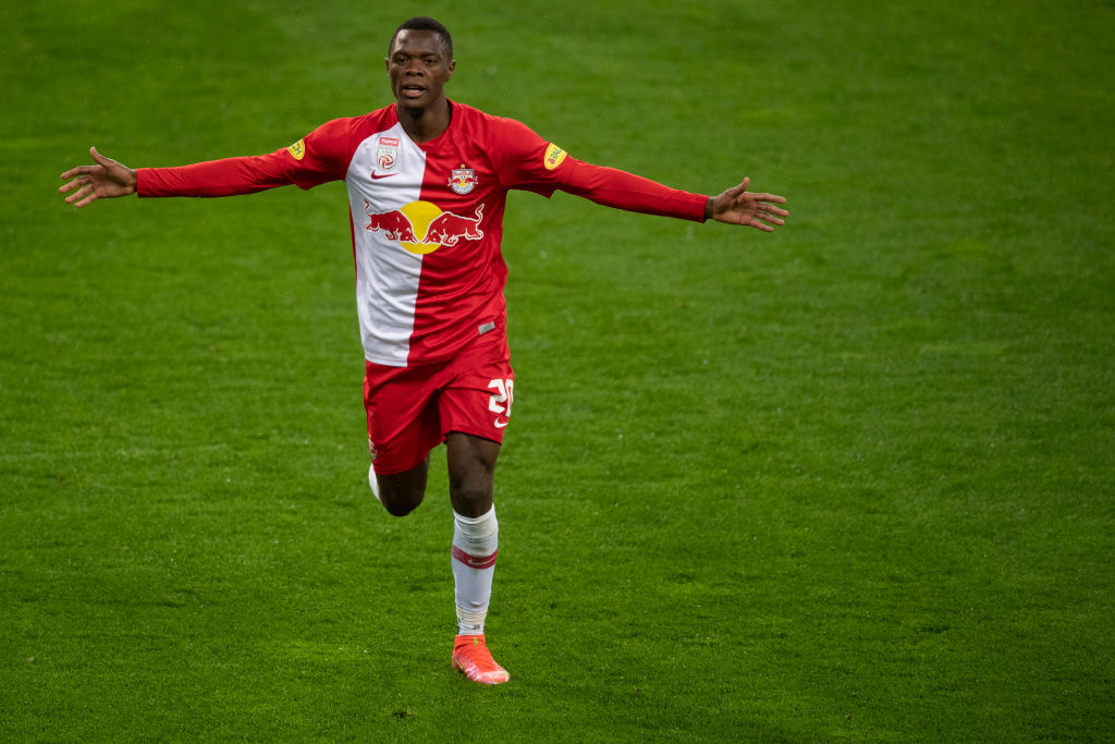 Patson Daka looks to be on his way to Leicester City