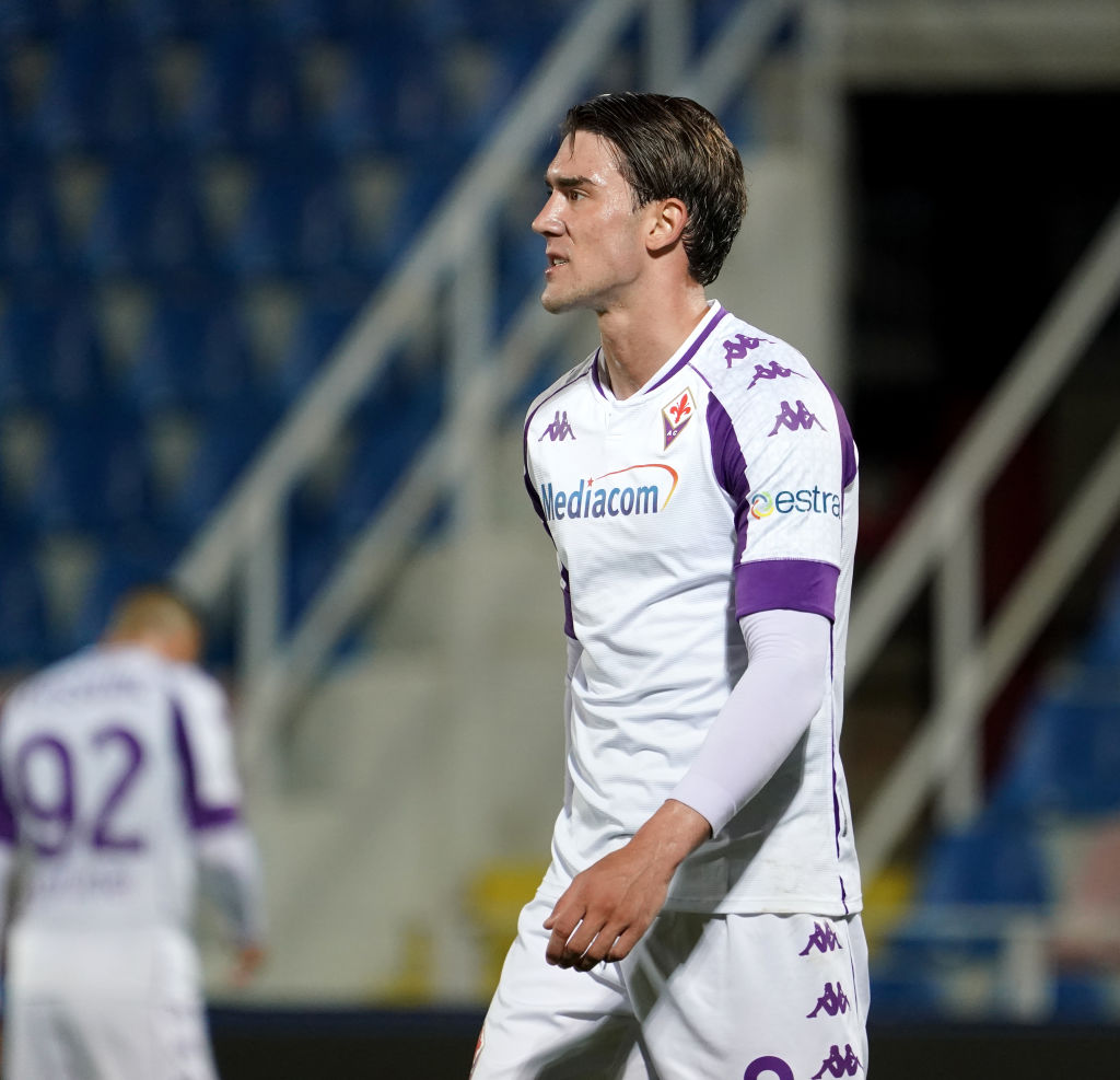 Liverpool are interested in Dusan Vlahovic