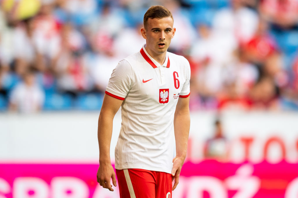 As the youngest player at Euro 2020, Kacper Kozlowski will hope to shine in Group E