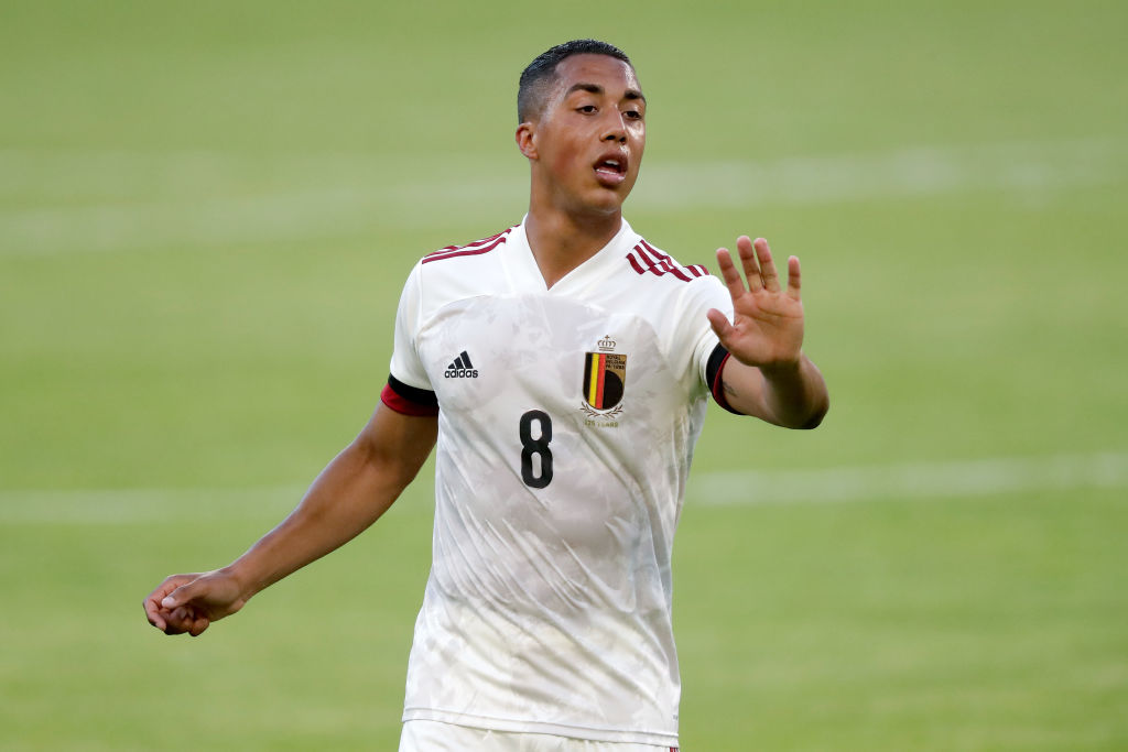 Youri Tielemens features for Belgium in Group B