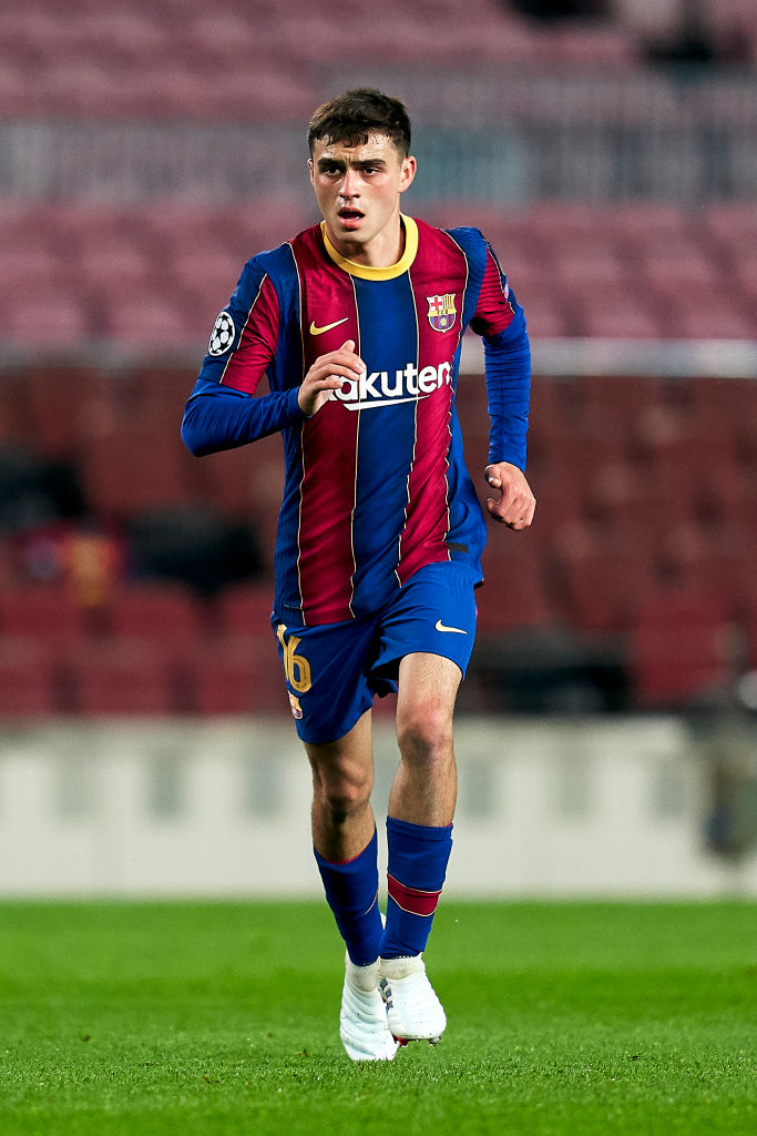 Liverpool are weighing up a move for Barcelona wonderkid Pedri