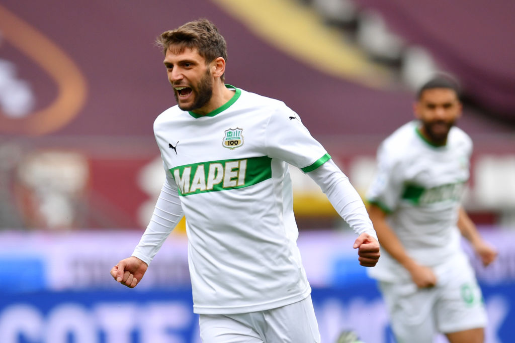 Liverpool have been linked with Domenico Berardi