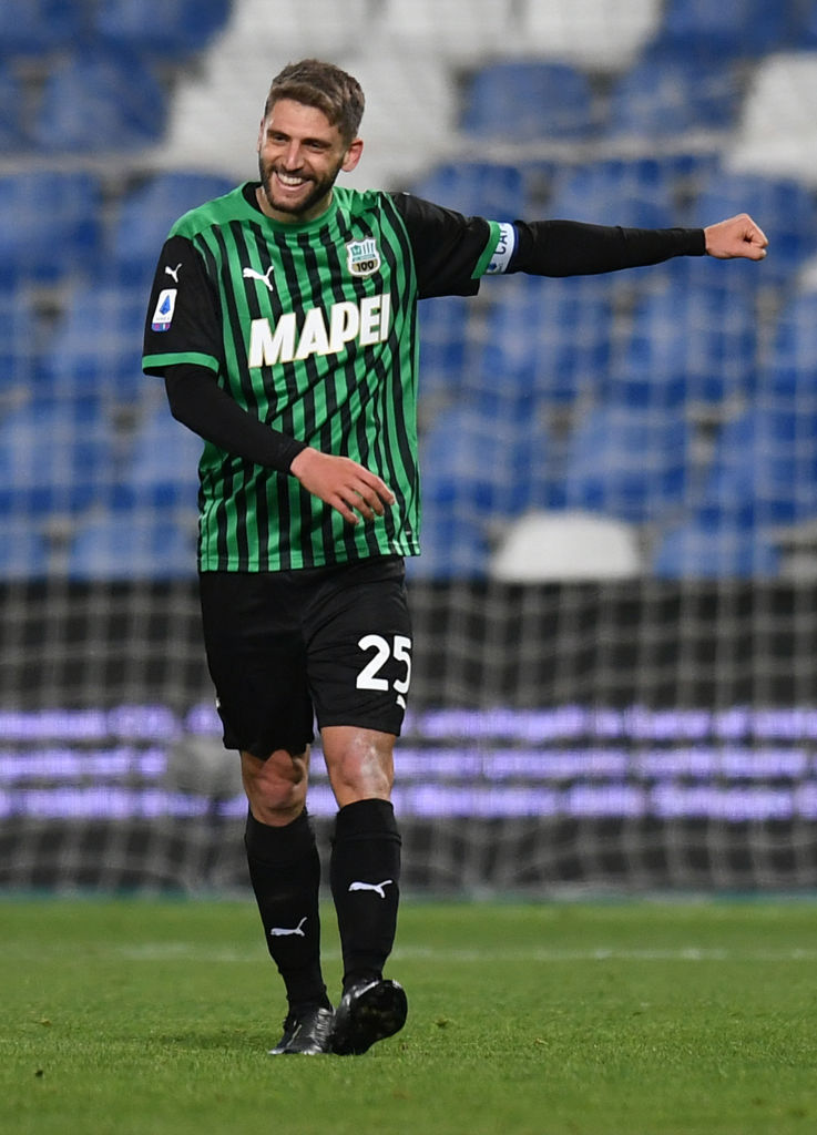 Reported Liverpool target Domenico Berardi has previously said he wants to sign for the Reds