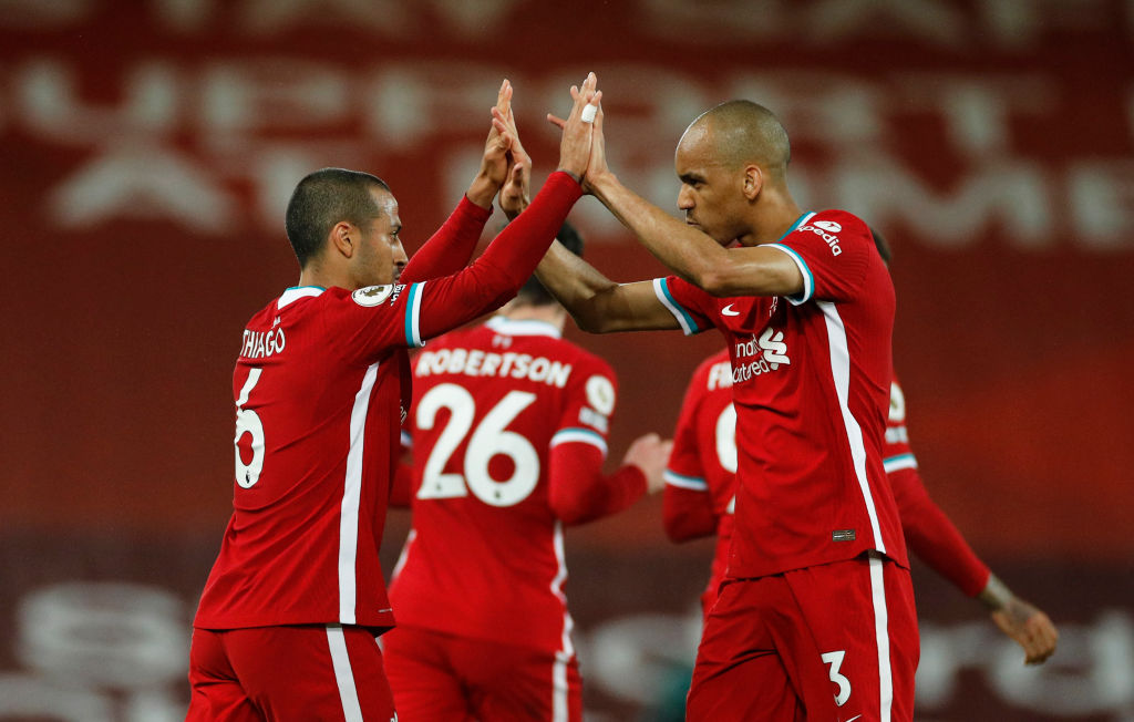 Hopefully, we see Fabinho and Thiago in the Liverpool XI for the majority of the season