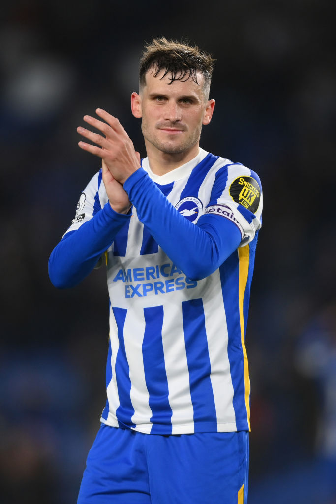 Liverpool are eyeing up Pascal Gross at Brighton.
