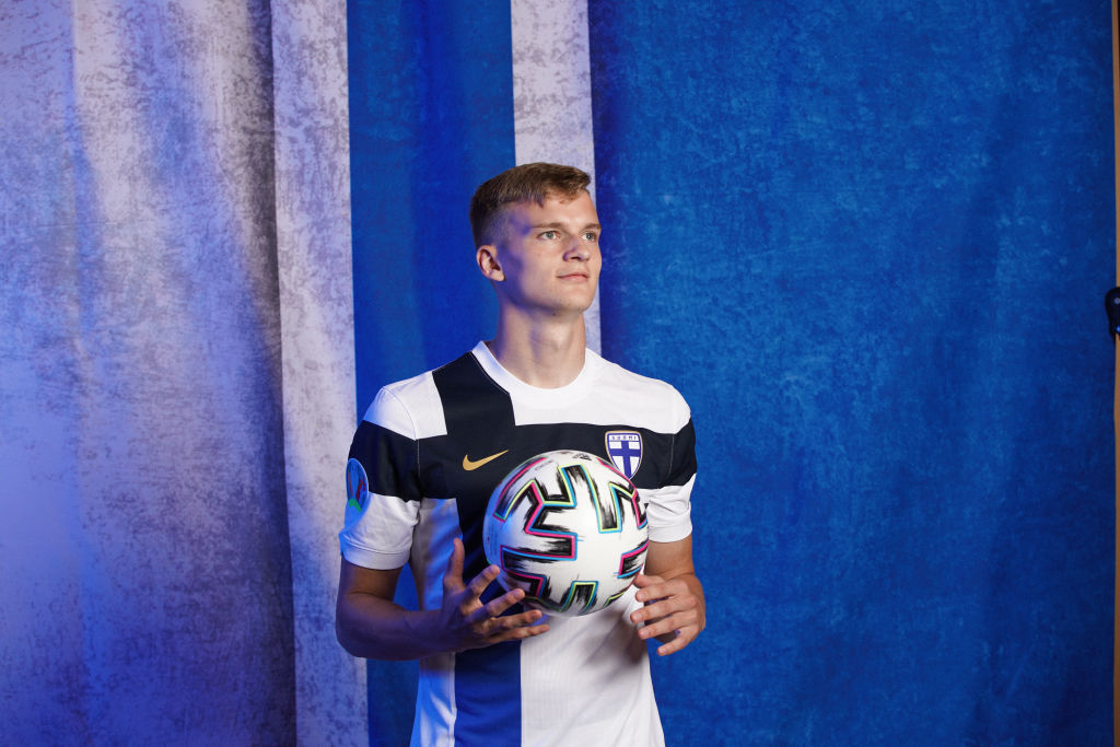 Marcus Forss will hope to help Finland out of Group B