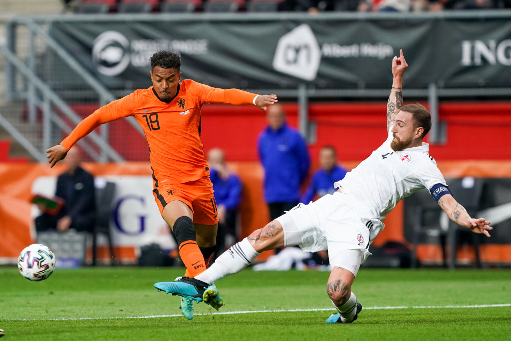 Donyell Malen will hope to help Holland top Group C