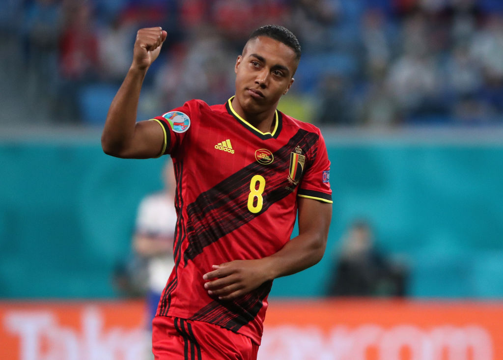 Liverpool fans were drooling over Youri Tielemans as Belgium beat Russia