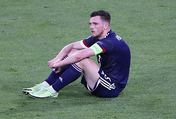 Andy Robertson after Scotland's exit from Euro 2020
