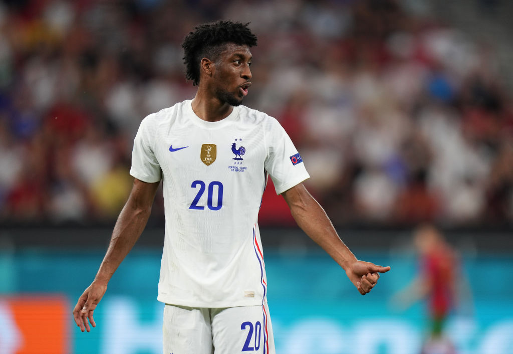 Liverpool could move for Kingsley Coman.