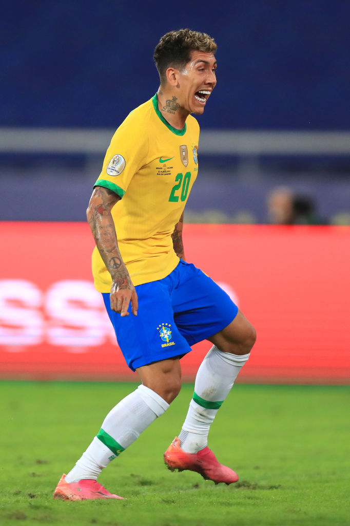 Liverpool fans have been left wowed by Roberto Firmino after a near assist for Brazil v Colombia.