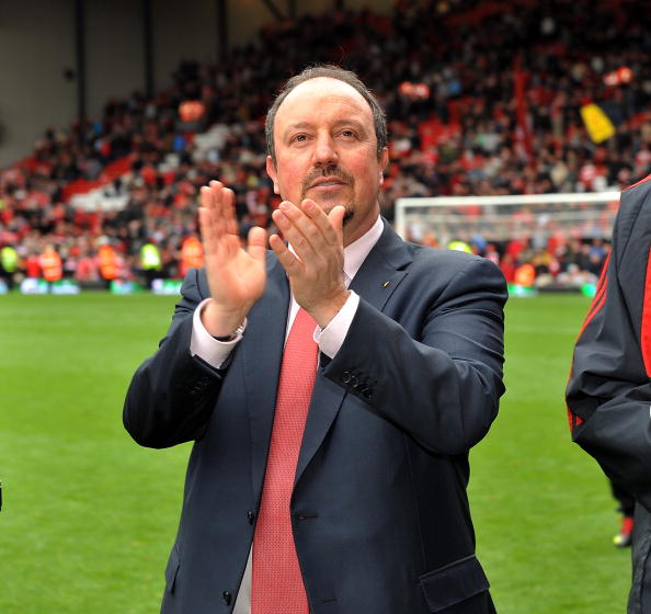 Liverpool fans have reacted to news that Rafa Benitez could be the next Everton manager