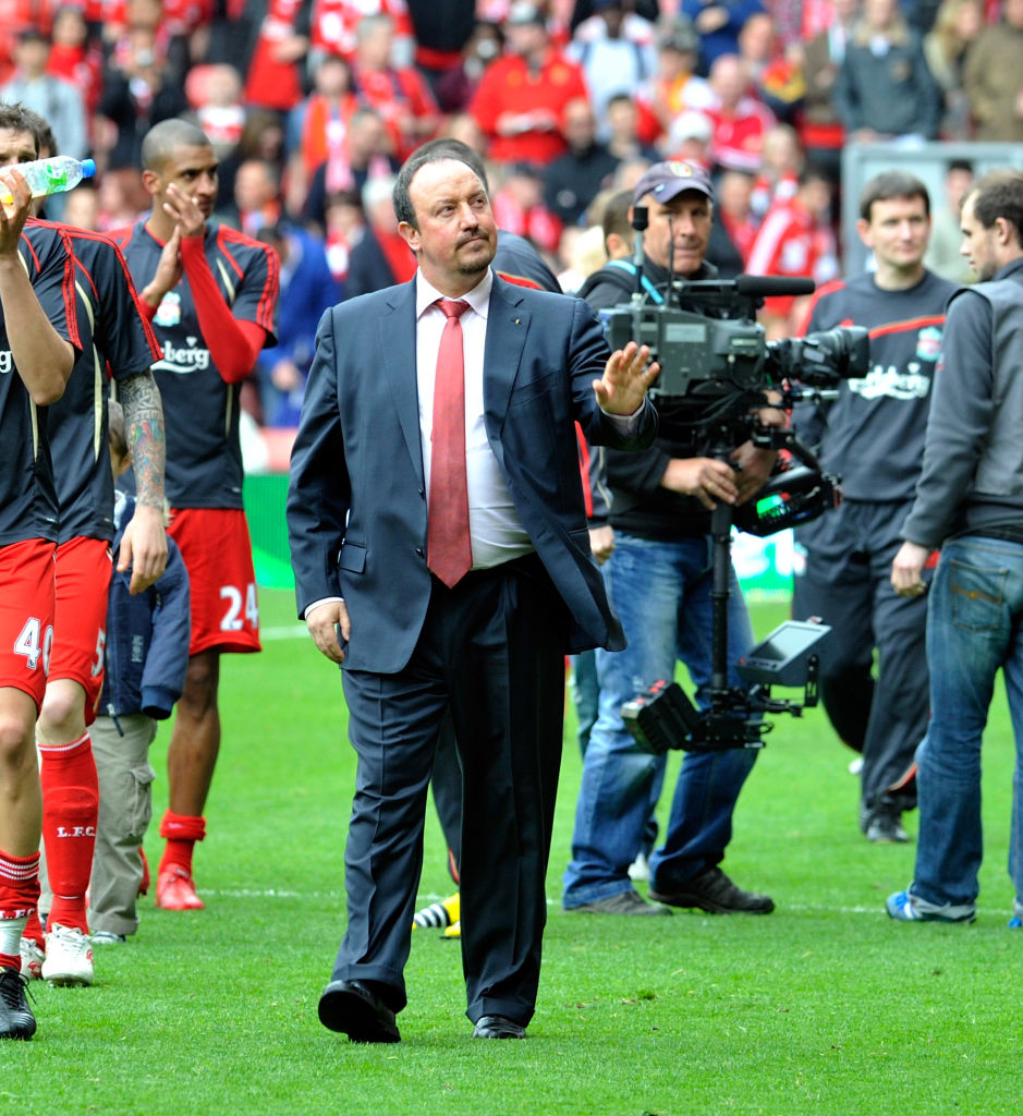 Rafa Benitez has been linked with the Everton job and Twitter has lapped up the rumour