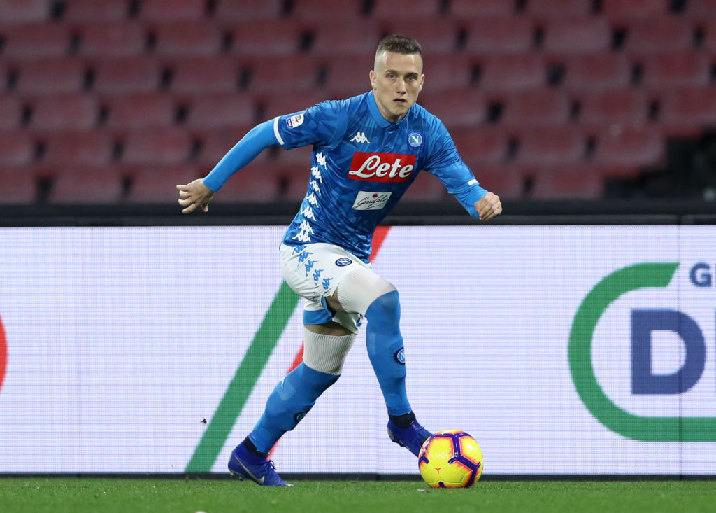 Piotr Zielinski has been linked to Liverpool once again