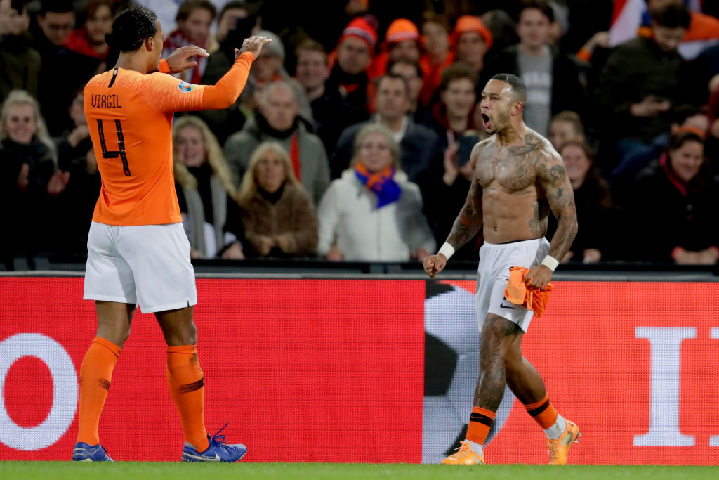 Van Dijk and Depay have both suffered serious ACL injuries