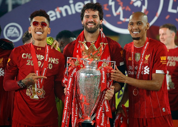 None of the three Liverpool stars started for Brazil in the Copa America final