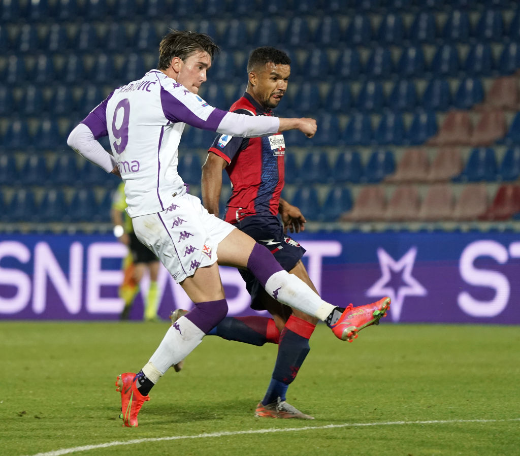 Dusan Vlahovic is set to sign a new contract at Fiorentina