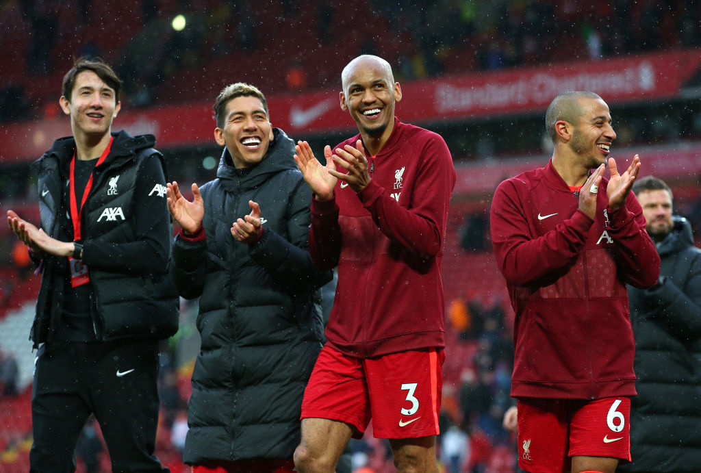 The dates for Fabinho and Firmino's Liverpool returns have been revealed