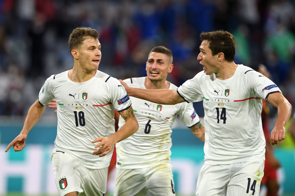 Liverpool are reportedly interested in both Chiesa and Barella