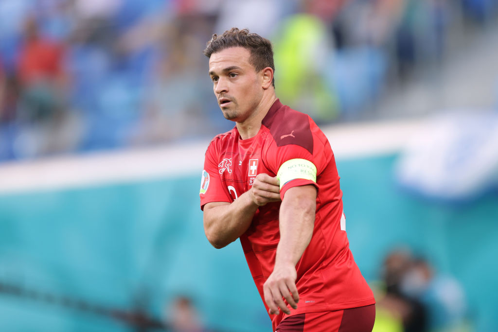 Liverpool could sell Xherdan Shaqiri in the near future with Lazio one of four clubs chasing