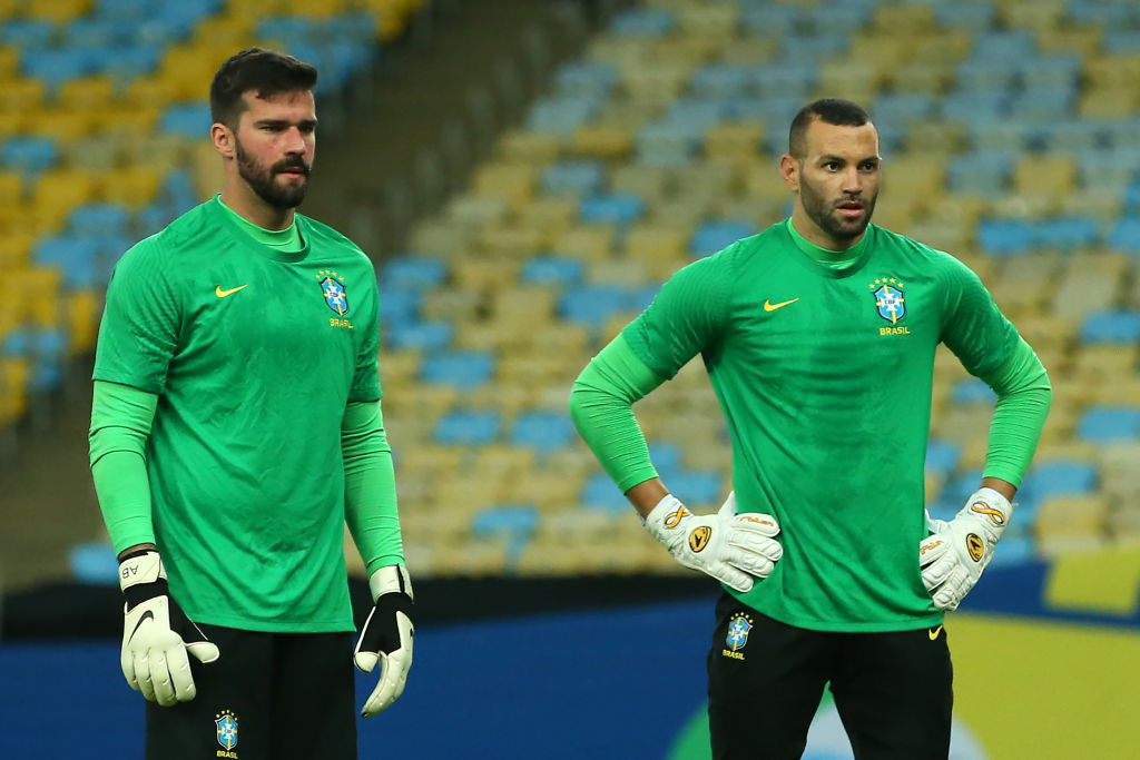 Liverpool goalkeeper Alisson had a busy summer but played very little