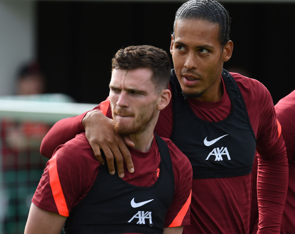 Liverpool fans are ecstatic that Virgil van Dijk could return to action against Hertha Berlin