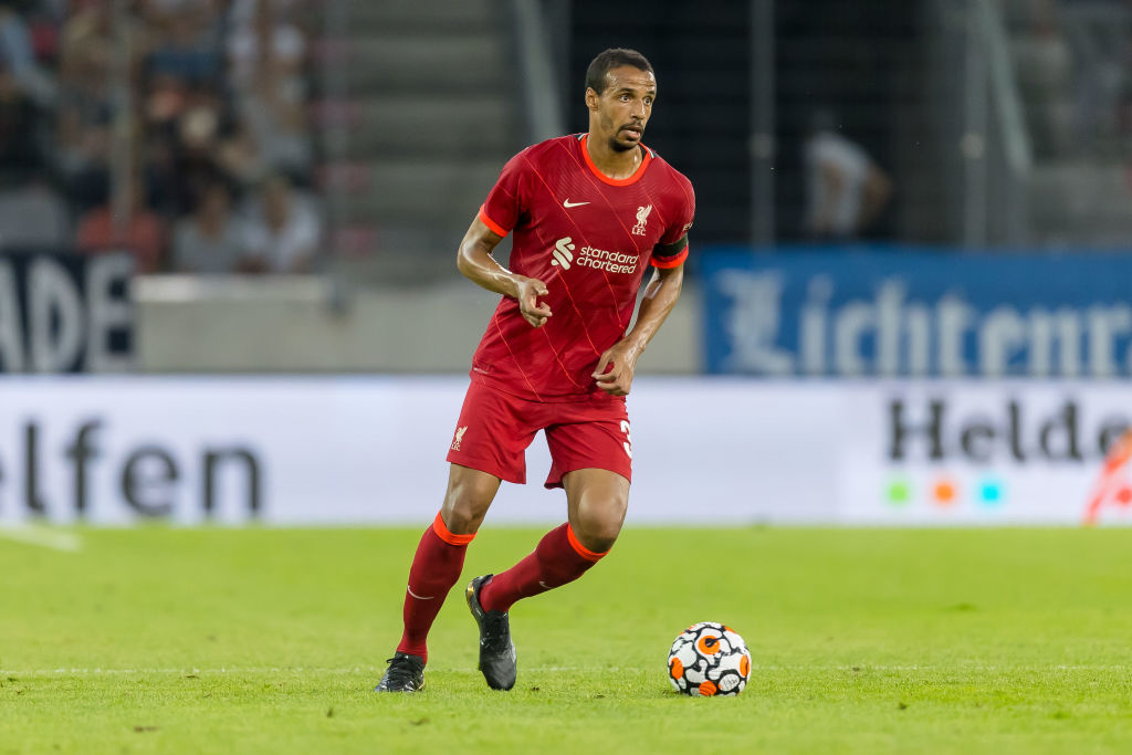 Joel Matip can show everyone that he is world-class this season
