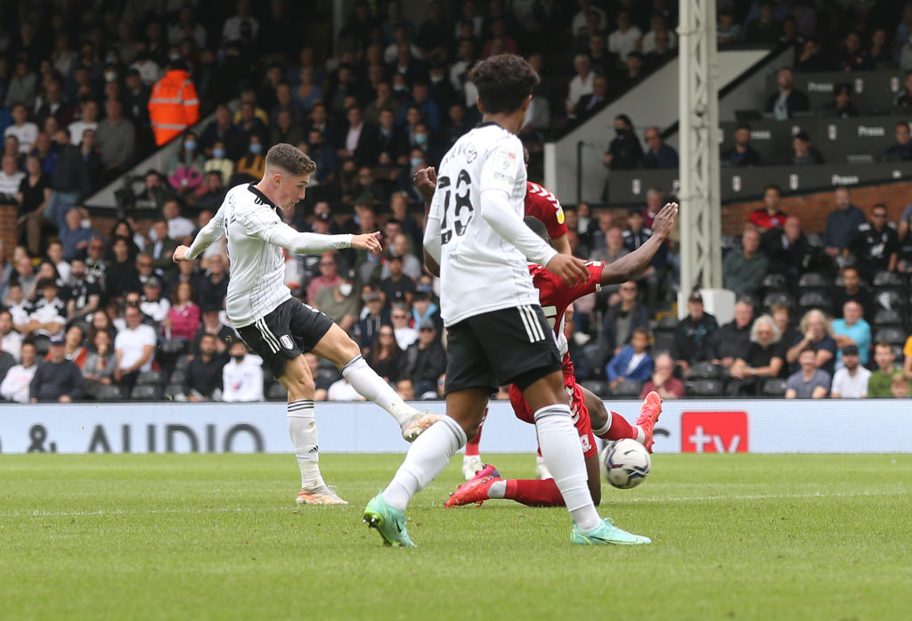 Harry Wilson took just 29 minutes to net on his Fulham debut