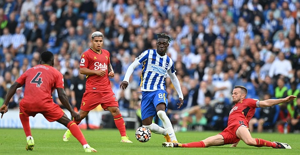 Ian Wright has urged Liverpool to sign Yves Bissouma