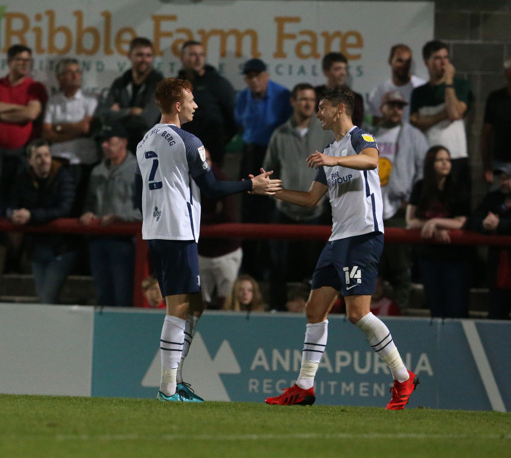 Twitter has been raving over Sepp van den Berg after he scored his first professional goal for Preston North End