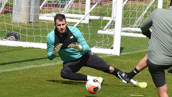 Andy Lonergan has signed for Everton