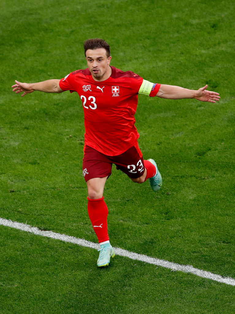 Sky Sports has claimed Liverpool are adamant they want £12.75m for Xherdan Shaqiri