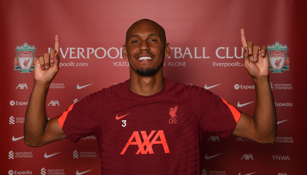 Fabinho Signs a New Contract at Liverpool