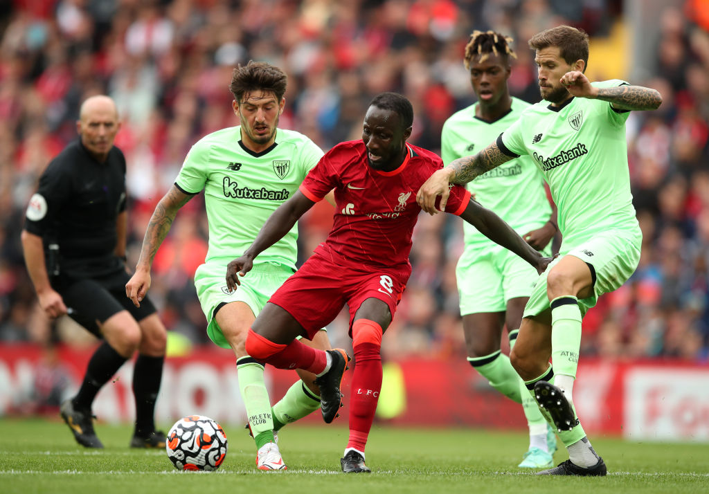 Naby Keita's form means that a new midfield signing is not needed at Liverpool