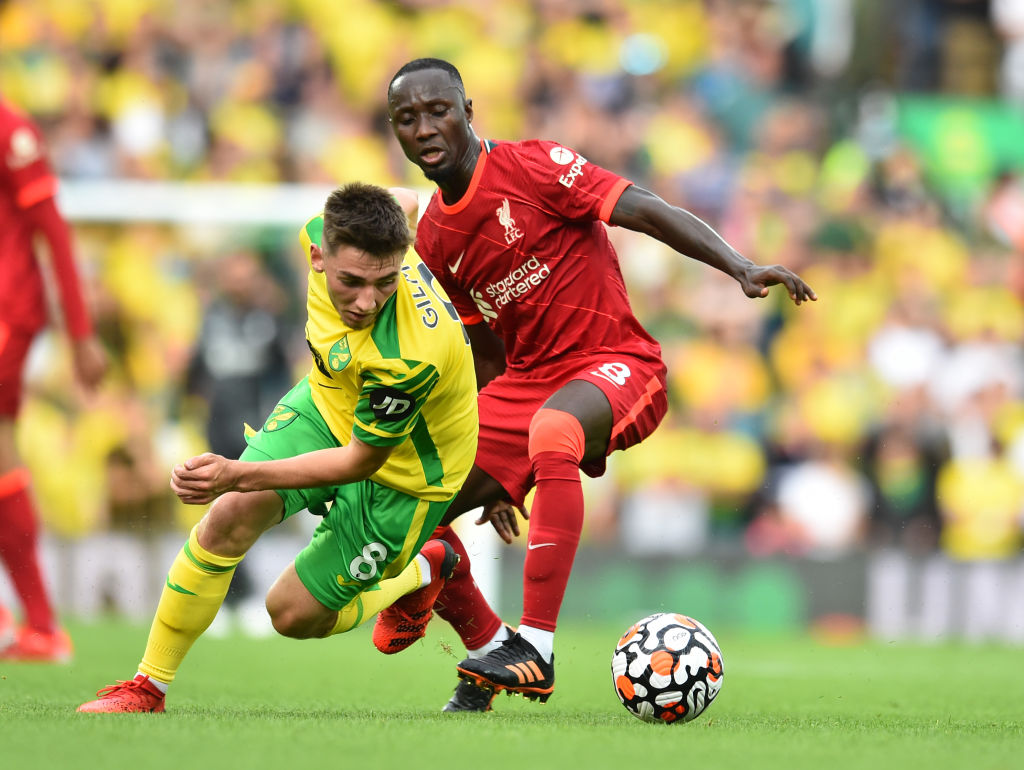 Naby Keita impressed with his defensive play on Saturday