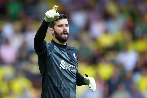 Garth Crooks has named Alisson Becker in the BBC Team of the Week