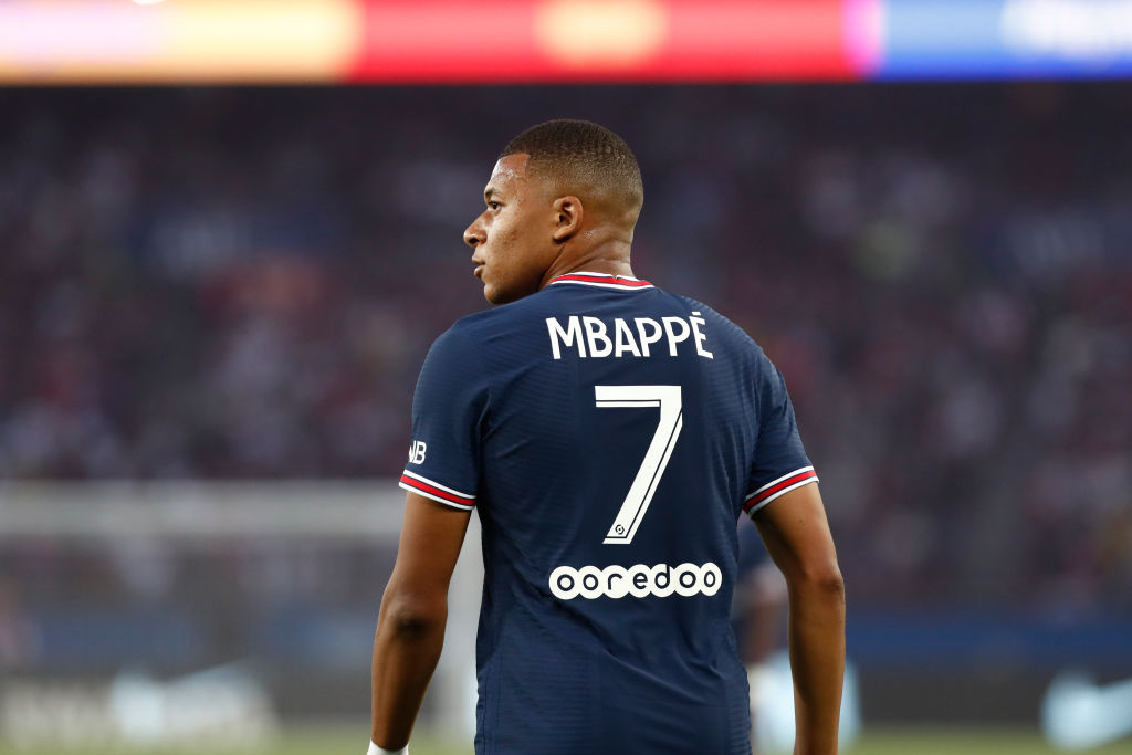 Liverpool are pursuing a move for Kylian Mbappe next summer