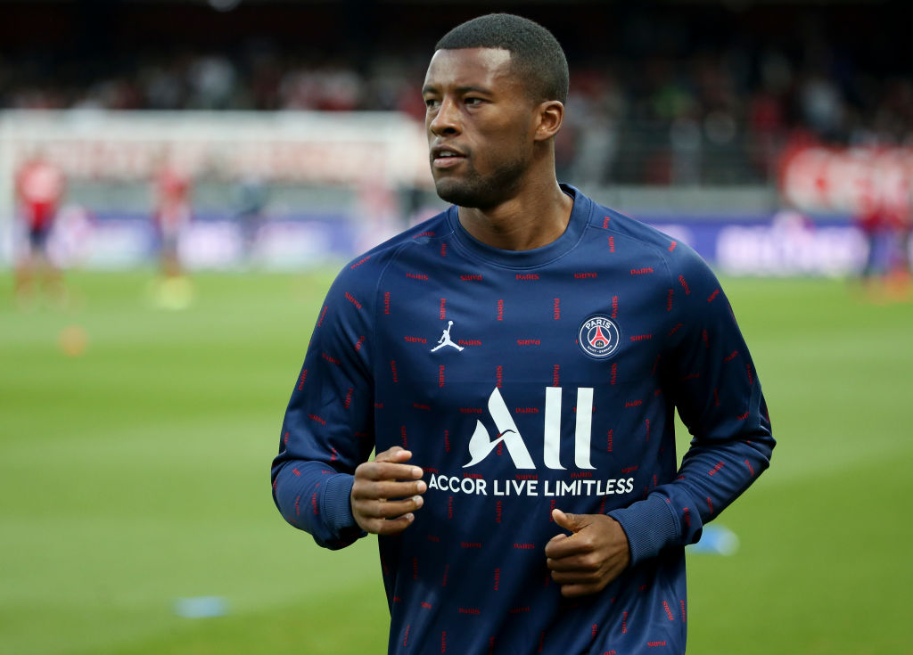 PSG fans have been a touch underwhelmed by Gini Wijnaldum so far