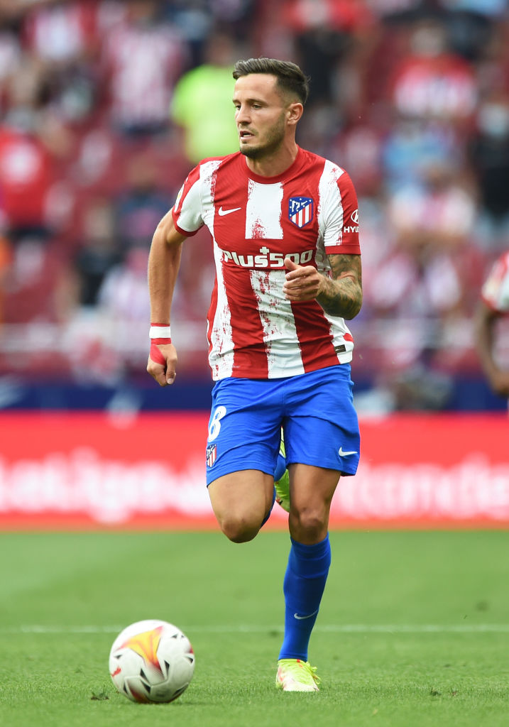 Reports in Spain have claimed Manchester United are close to signing Saul ahead of Liverpool