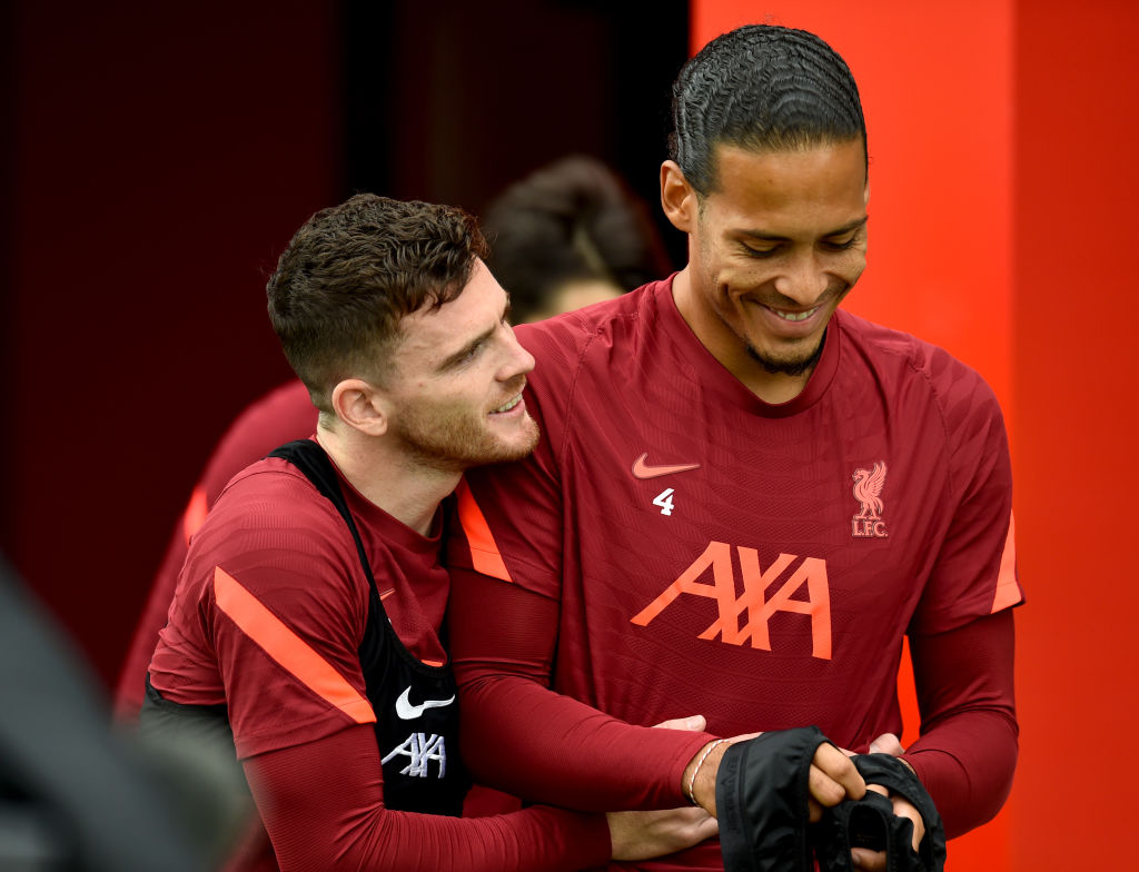 Twitter has reacted to news that Andy Robertson has signed a new contract with Liverpool