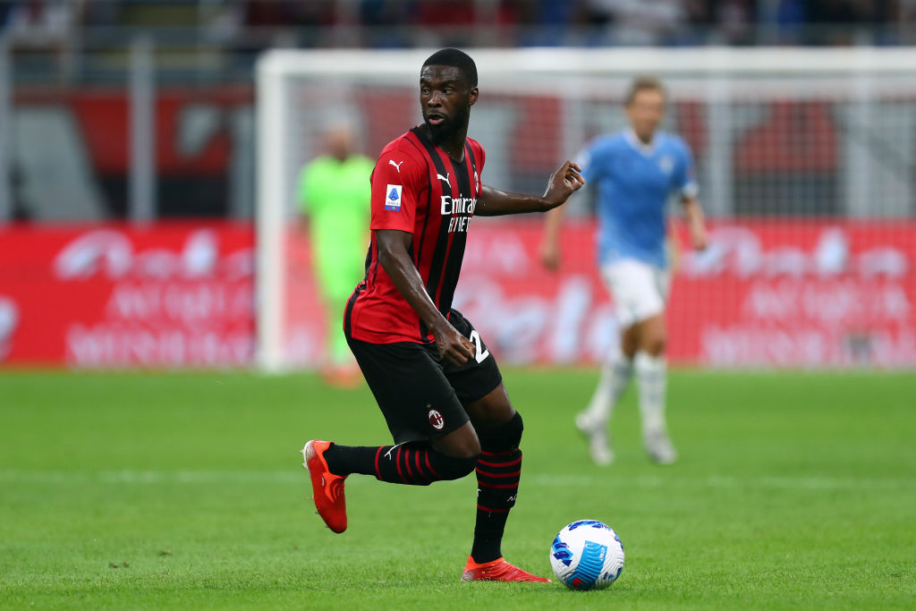 Fikayo Tomori of Ac Milan  in action during the Serie A