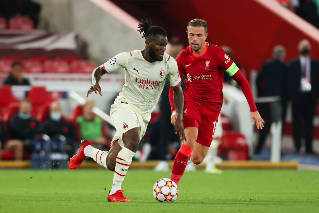Liverpool target Franck Kessie is still rejecting contract offers from AC Milan